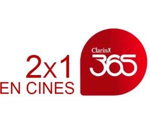 Clarin 365: 2×1 en cines