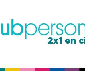 2×1 en cines con Club Personal