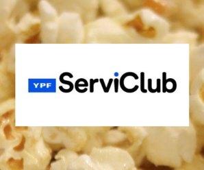 Canje de puntos YPF Serviclub en cines