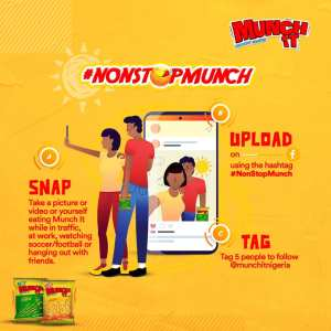 Munch it Nigeria #NonStopMunchContest!!!