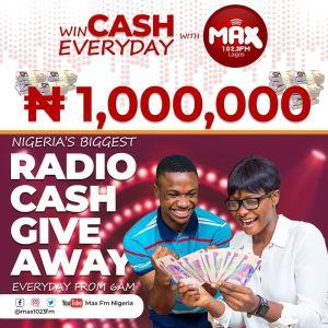 Max 102.3FM Radio CASH Giveaway !!!