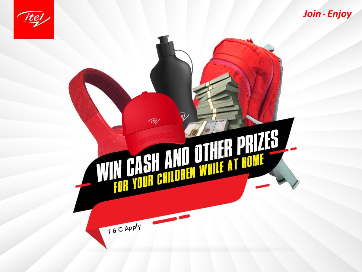 N10,000 cash prizes, school bags, notebooks, and more are up for grabs in itel Mobile Giveaway !!!