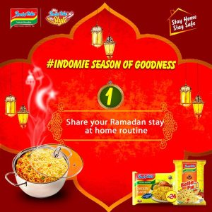 "Win Prizes in the ""Indomie Season Of Goodness"" Ramadan Giveaways."