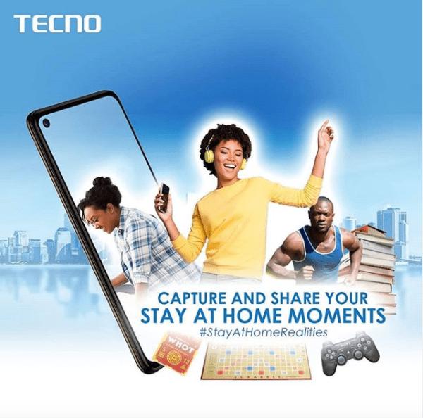 Tecno Mobile Nigeria #StayAtHomeRealities Giveaway !!!