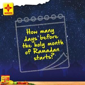 Maggi Nigeria Ramadam Trivia