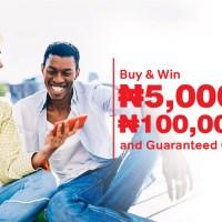 Win N5000 to N100Million in Airtel Thanks Cash Token Rewards.
