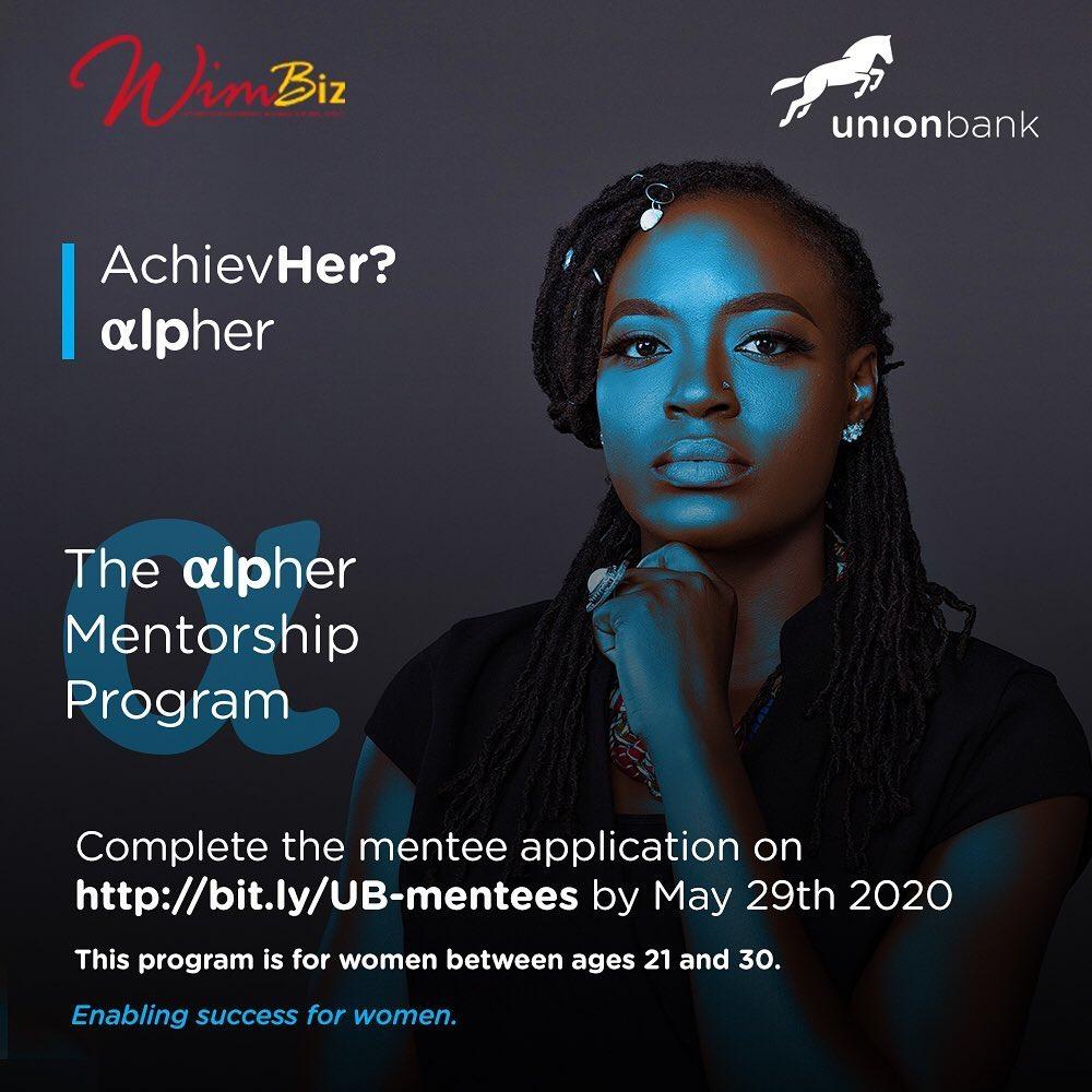 Join WimBiz, The Alpher Mentorship Program By Union Bank.