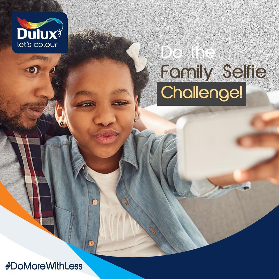 Dulux Nigeria FAMILY SELFIE CHALLENGE.