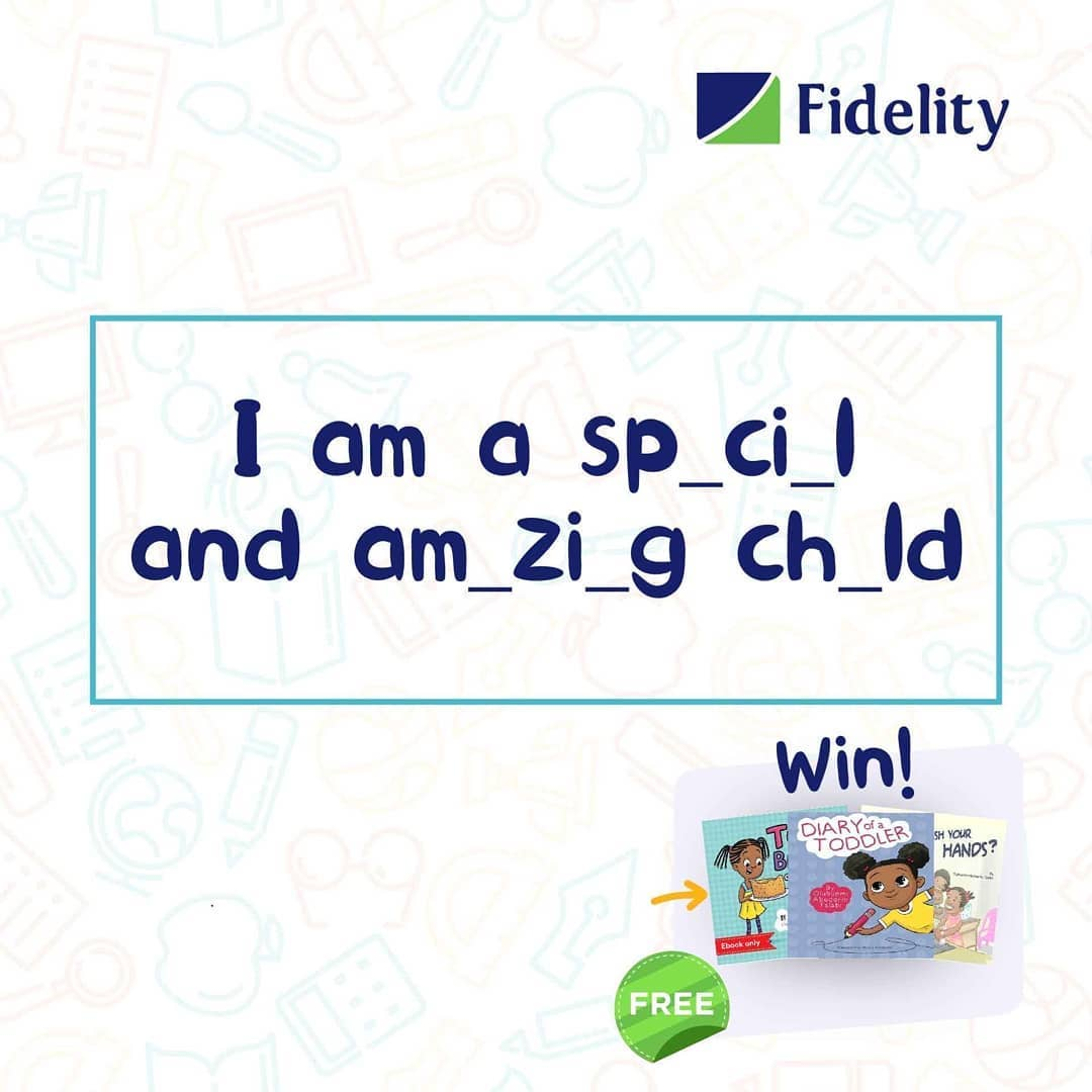 Fidelity Bank Children's Day Giveaway