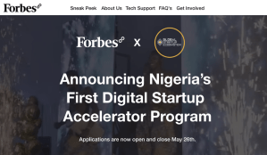 APPLY: Forbes8 Launches Nigeria's First Digital Startup Accelerator Program To Support Business Resilience During COVID19 Pandemic