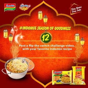 Indomie Season of Goodness Challenge 12.