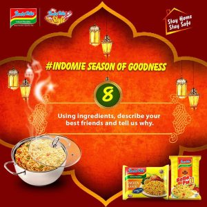 Indomie Season of Goodness Giveaways Continues