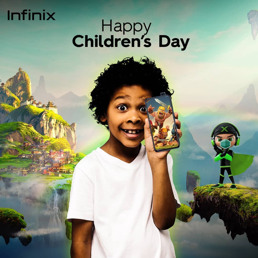 Happy Childrens Day From Infinix Mobile Nigeria