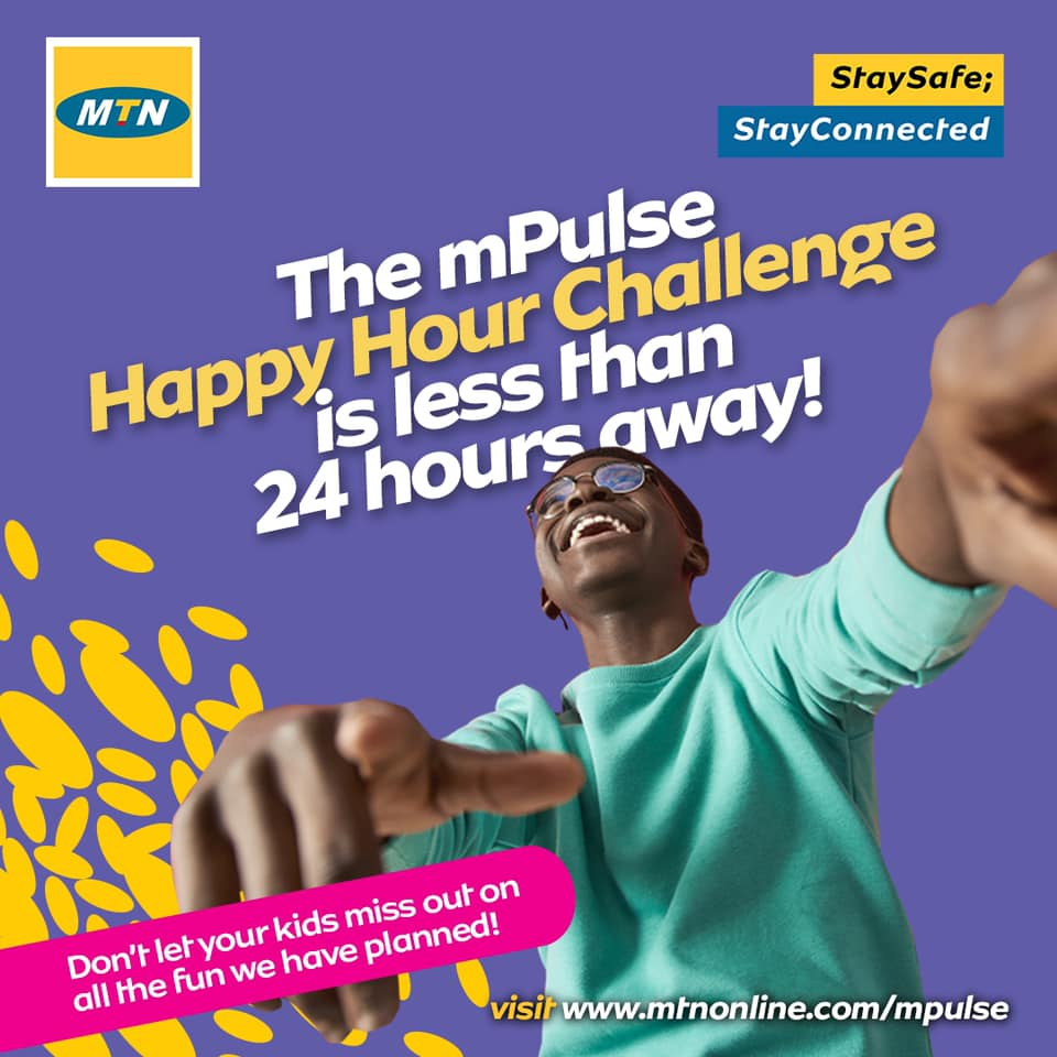Join The MTN #mPulseHappyHourChallenge and Win Prizes.