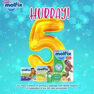 Win N40,000 In Molfix Nigeria 5th Anniversary Video Contest Tagged #MolfixAtFive.