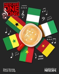 Win $3000 in NESCAFÉ One Song Competition For Six African Countries.