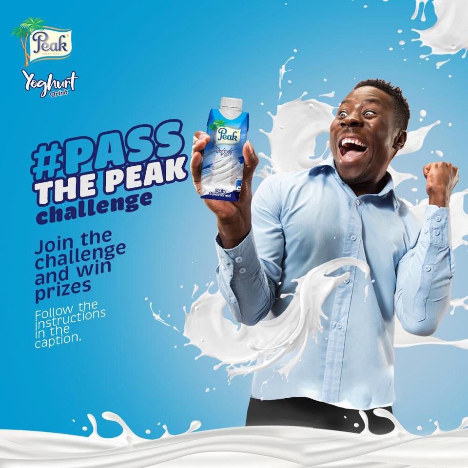Win a Smartphone in Peak Yogurt #PassThePeak Challenge.