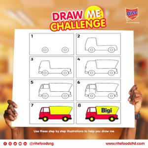 "Win Prizes in Rite Foods Nigeria ""Draw Me Challenge"" Part 2."