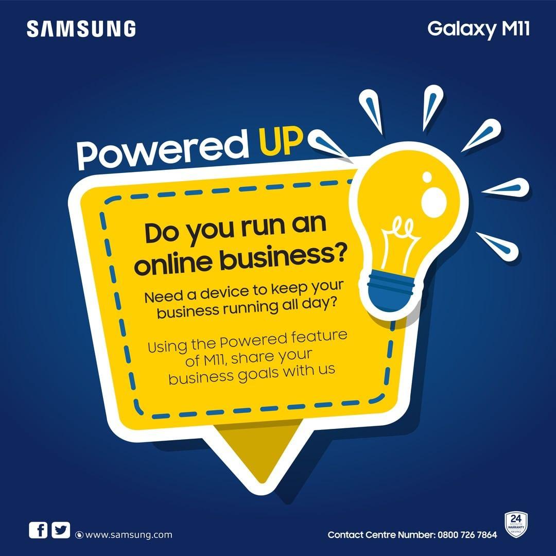 Samsung Nigeria Giveaway