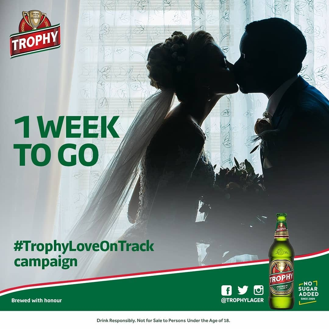 Entries into #TrophyLoveOnTrack Campaign has been Extended by 1 Week.