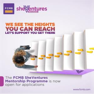 "Apply For The 4th FCMB ""She Ventures Mentoriship Program"" and Learn How to Excel in your Business."