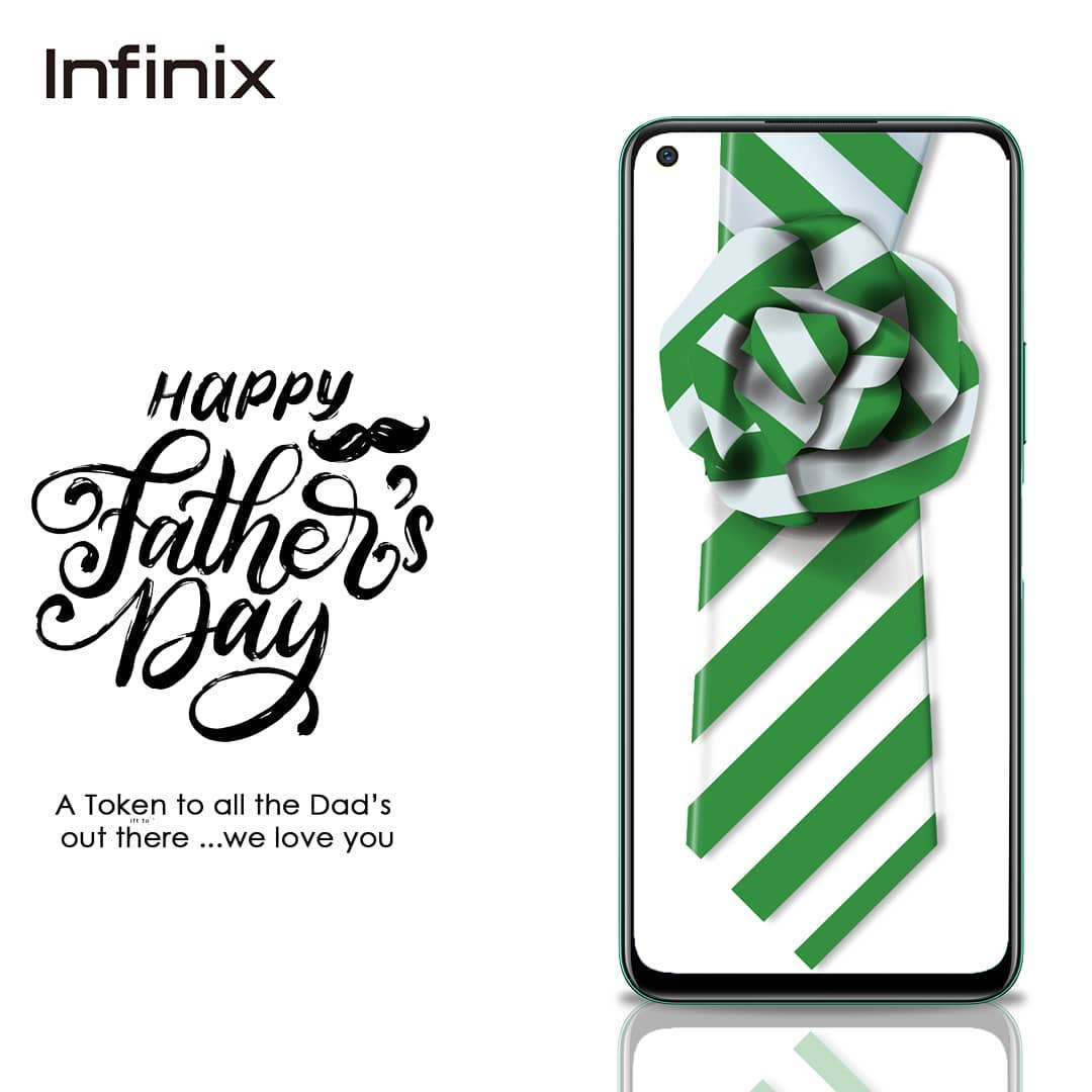 Win a Gift in Infinix Nigeria Fathers Day Giveaway.