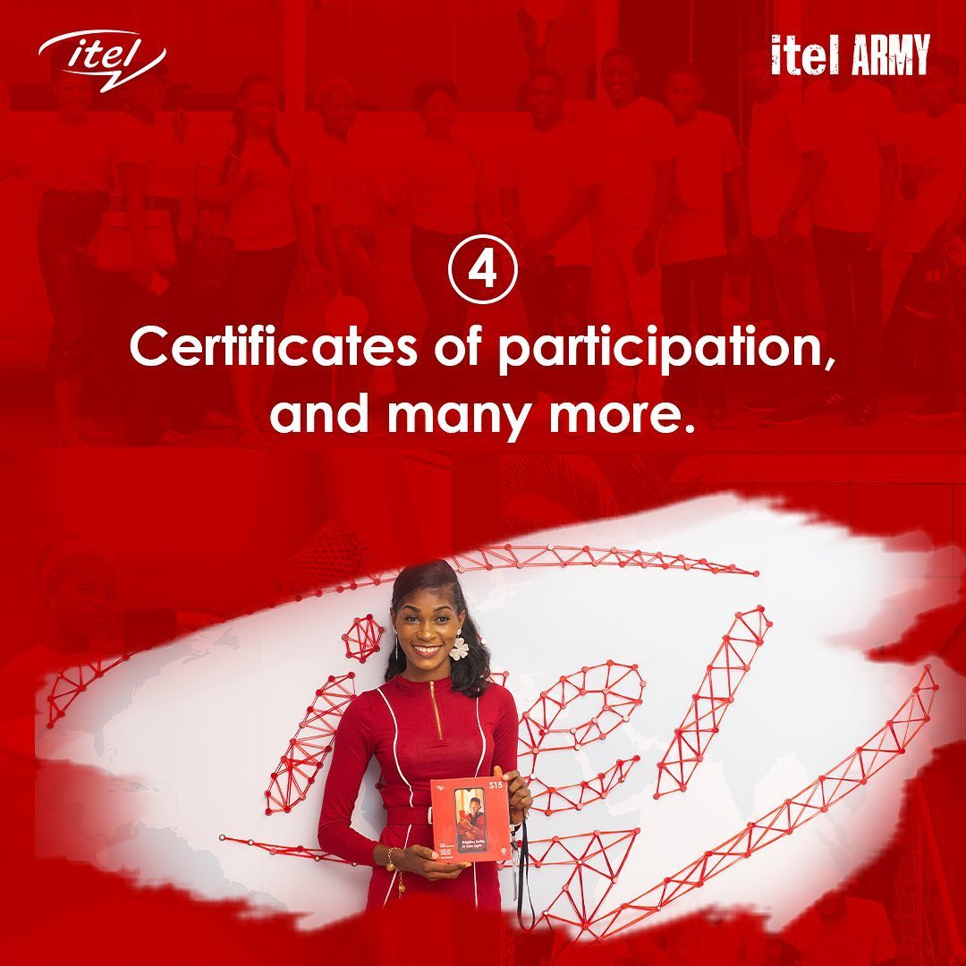 Join itel Army and Win Prizes
