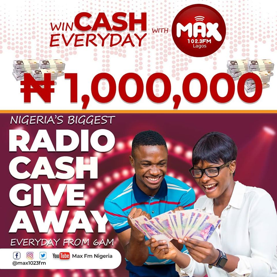 Win Millions in Max 102.3FM Radio CASH Giveaway !!!
