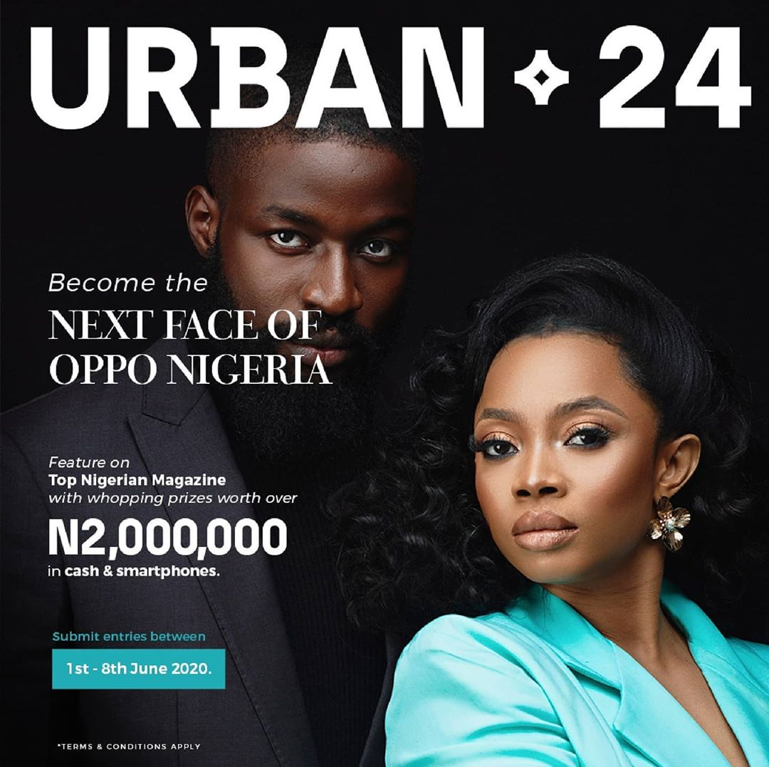 Become the Next Face of Oppo Nigeria and Win N2Million Naira.