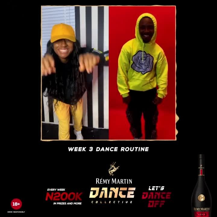 Win N200k in Week 3 of Remy Martin Dance Collective.