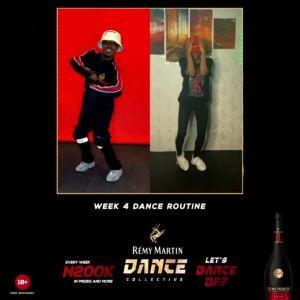 See Remy Martin Week 4 Dance Challenge Routine, Winner Gets N200k.