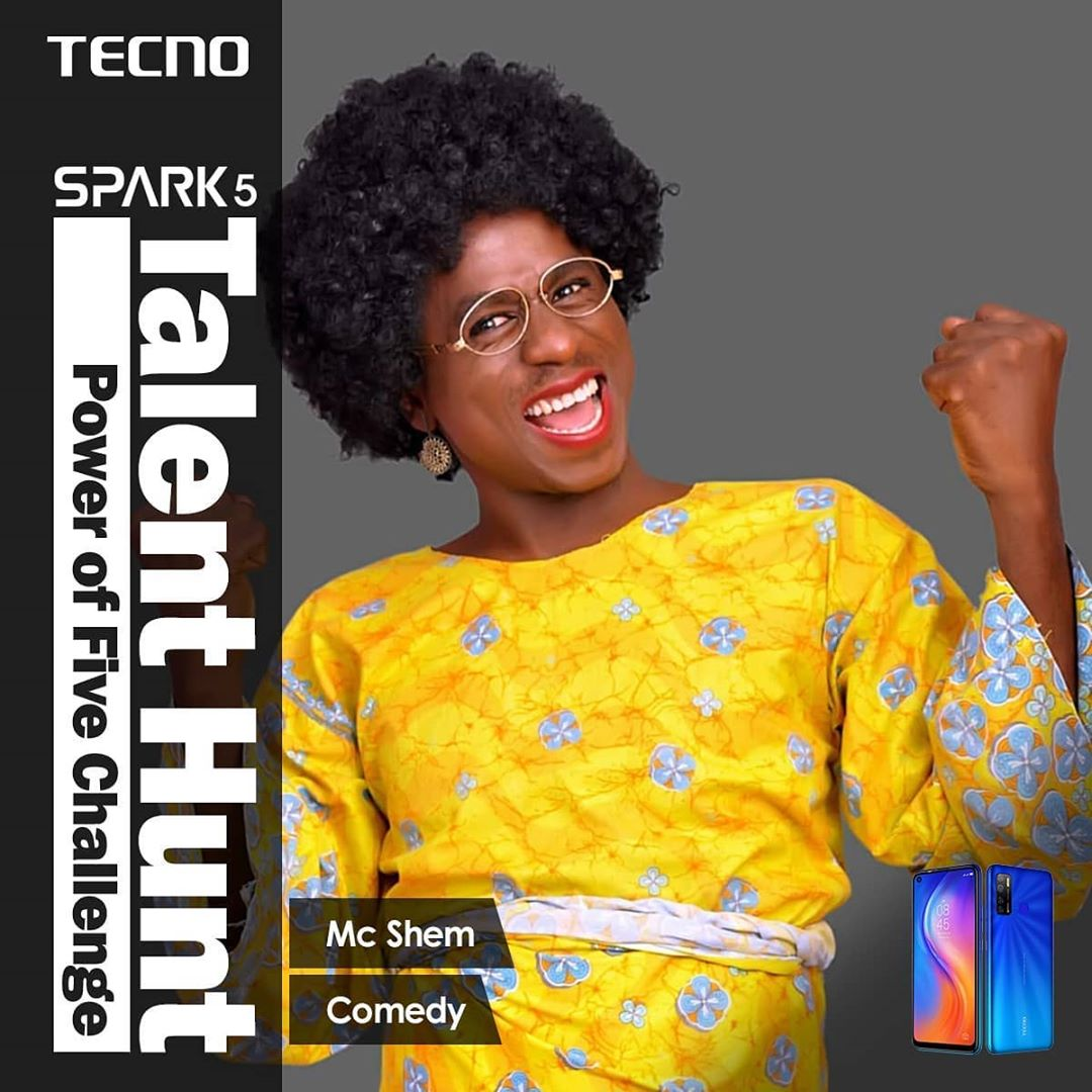 Tecno Spark Power Of Five Challenge Continues With Comic Challenge.