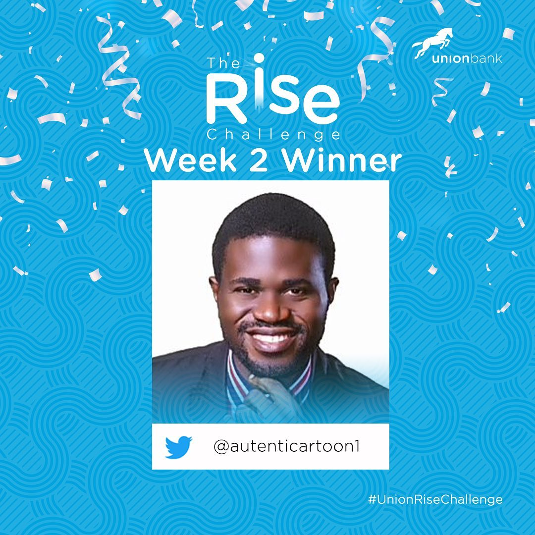 The Rise Challenge Week 2 Winners of N250k Each.