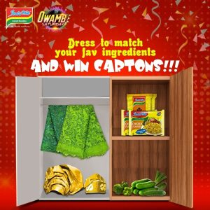 Join the #IndomieOwambeWeekly And stand a chance to win amazing prizes!
