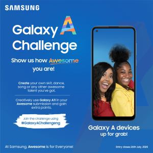Join the Samsung #GalaxyAChallengeNG and Win Loads of Prizes