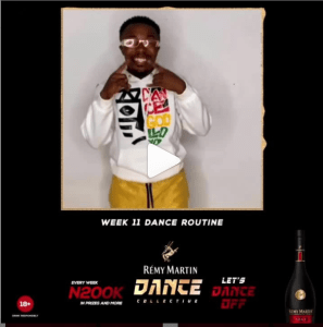 N200K For Grabs in Remy Martin Dance Collective, Week 11.