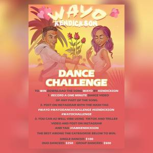 $500, $250 AND $100 For Grabs in Wayo Dance Challenge by @iamkendickson