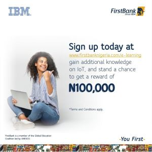 Learn and Win N100k in First Bank Giveaway