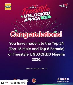 See the Winners of MTN Freestyle Unlocked Africa.