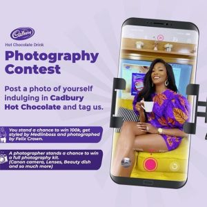 Win N100K and Other Prizes in Cadbury Hot Chocolate Photography Contest.