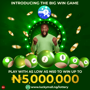"""Introducing """"The Big Win Game"""" Mega Lottery By Lucky Mall Nigeria."""