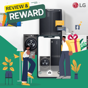 Review LG Products and Stand a Chance to Win Prizes.