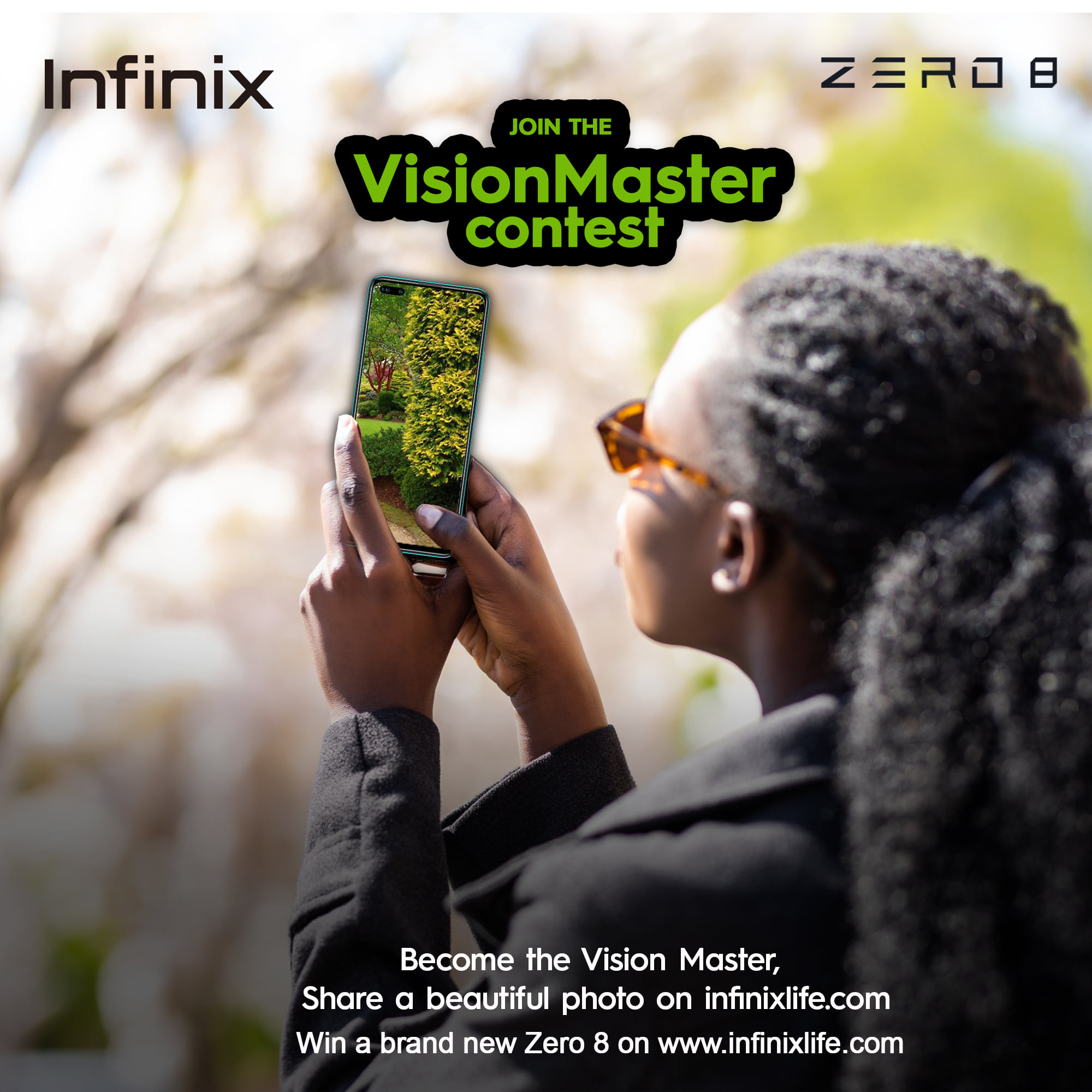 Join the Infinix Vision Master Contest and Win Prizes.