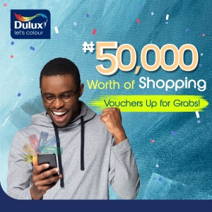 Buy and Win Shopping Vouchers in Dulux Paints Giveaway.