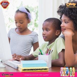 Cash Prizes For Grabs in Nutrimilk Superkids #MyHomeSchoolStory Challenge.