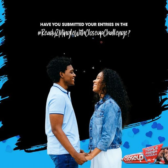Win an all expense paid dinner for 2 and Hampers in the #ReadyToMingleWithCloseup Challenge.