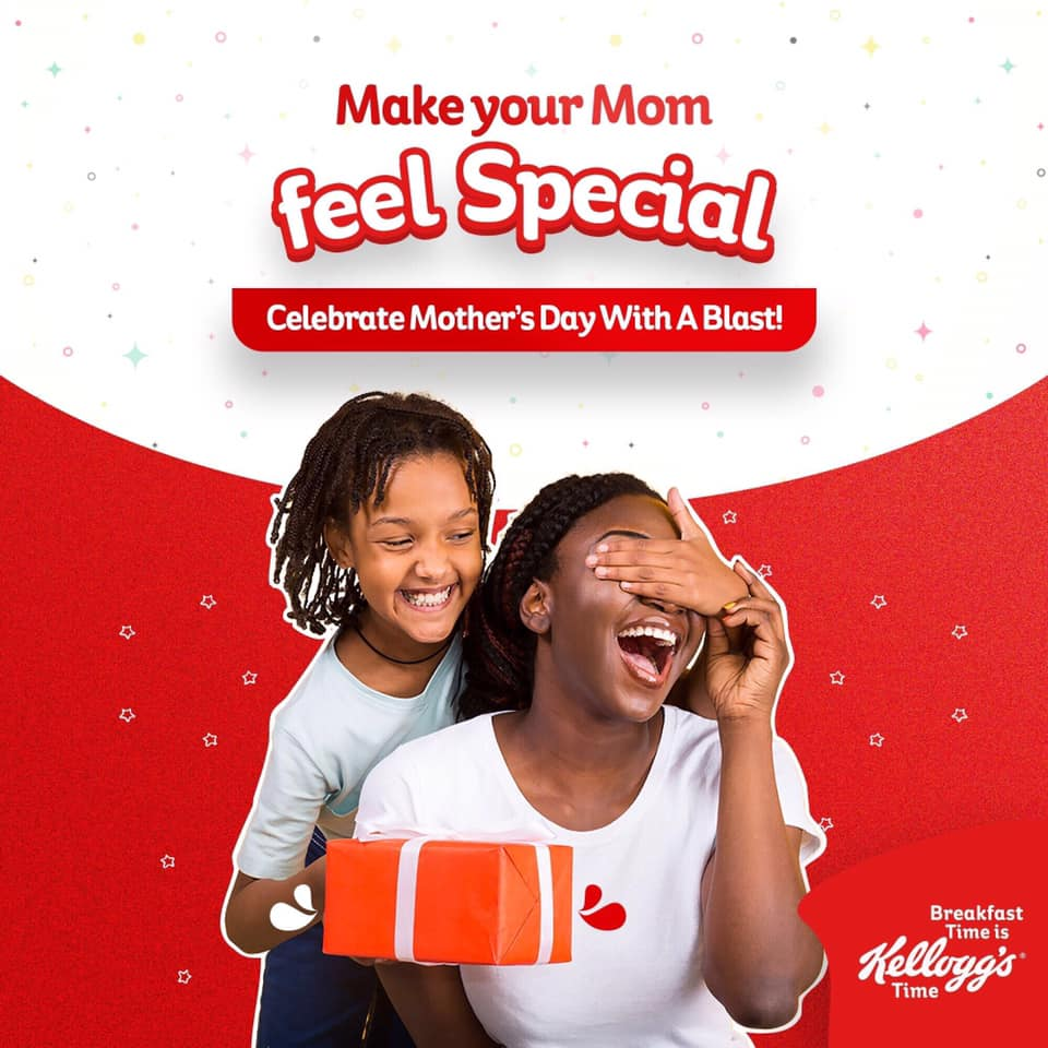Win N50,000 in Kelloggs Nigeria Mothers Day Contest Tagged #MyDearMommy.