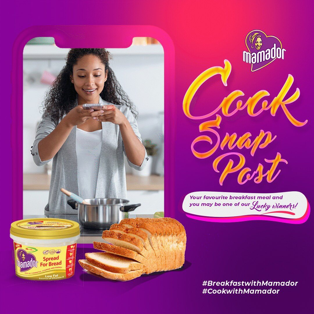 Join the #MamadorBreakfastSeries and Win Prizes.