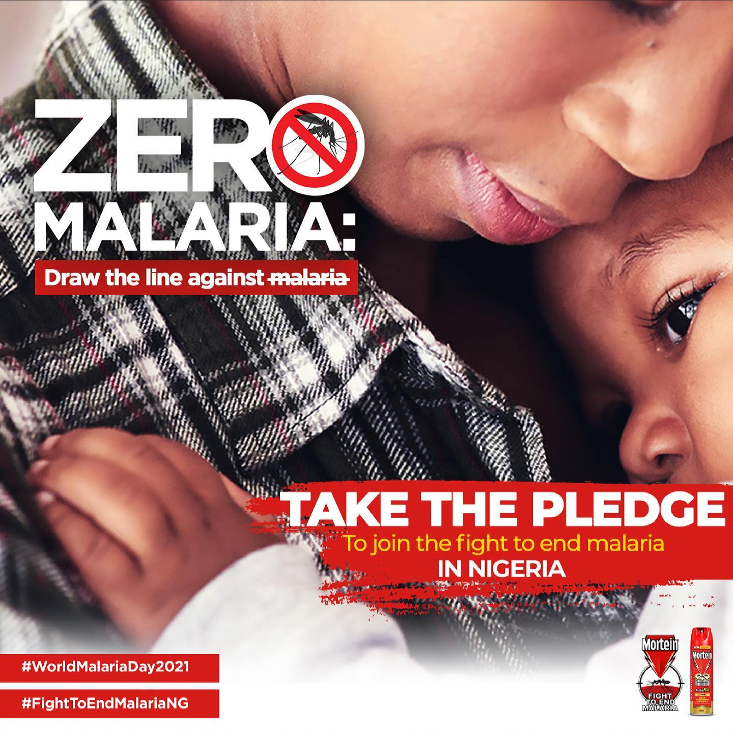 Win N10k as you Join the Fight to End Malaria by taking a Pledge in #MorteinFightToEndMalariaNG.