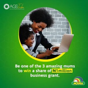 3 Lucky Mums to Win a business grant in Mouka Limited #AGSXMouka2021.